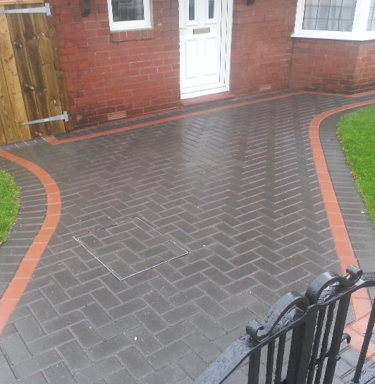 recent job for block paving in bristol