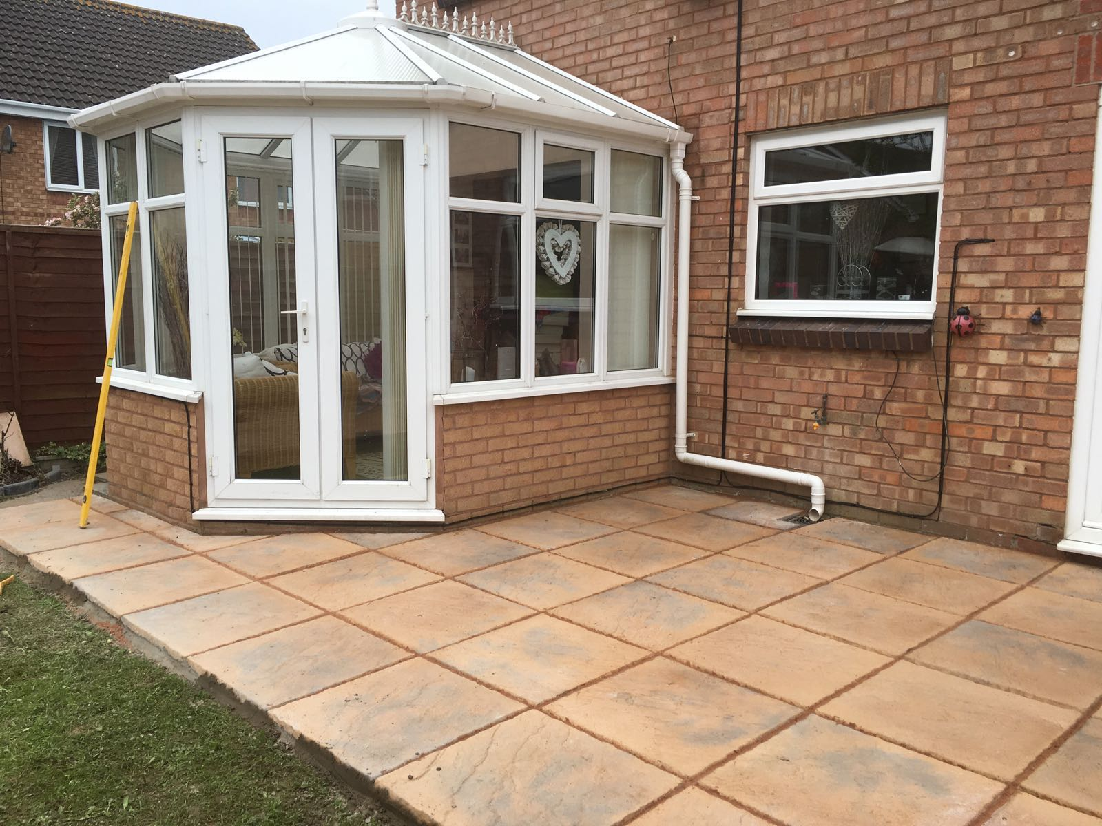 quality garden patios in Clevedon