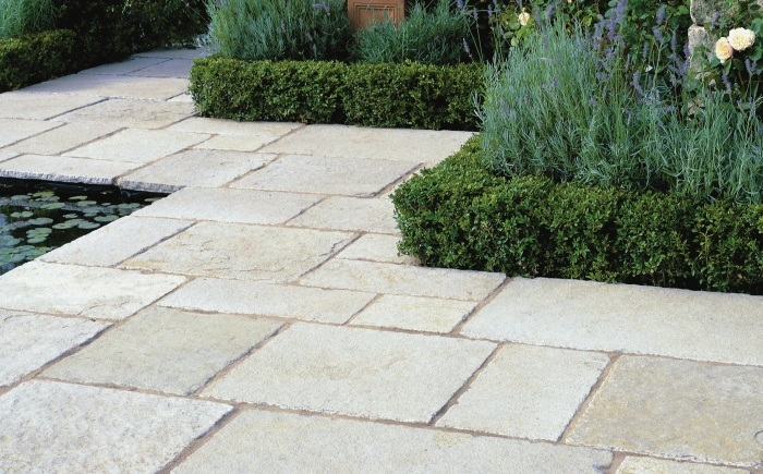 experts in limestone garden patios in bristol