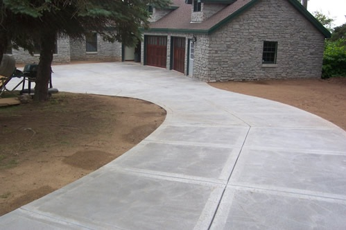 concrete driveways in Clevedon